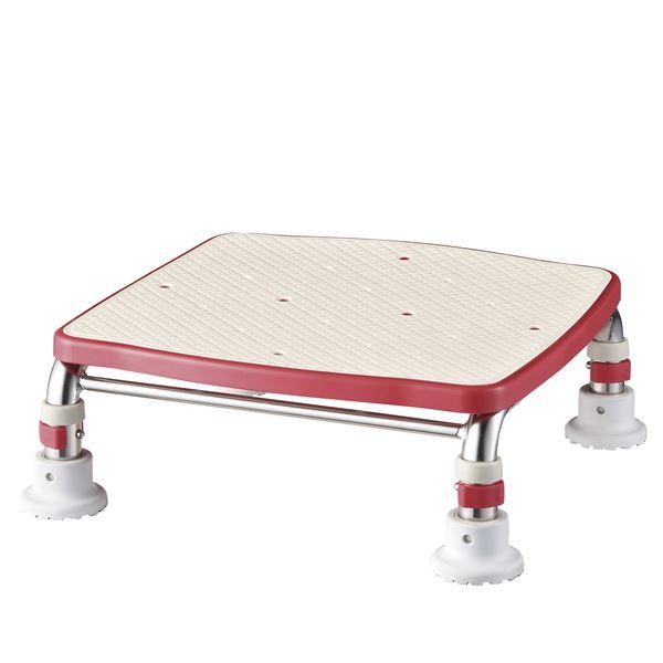 【送料無料】アロン化成 浴槽台 ステンレス製浴槽台Rジャスト(4)17.5-25 レッド 536-496( レッド 赤 )