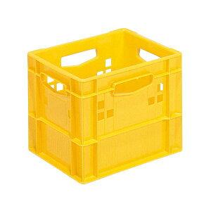 三甲(サンコー) 飲料輸送用コンテナ/ピュアクレート 【1L紙パック×12本用】 12P-1D イエロー(黄) 黄