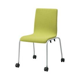 ジョインテックス 会議イス GK-40R イエローグリーン 緑 黄