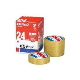 (業務用20セット) ニチバン セロテープ Lパック LP-24 24mm×35m 6巻