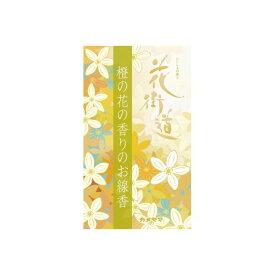 (まとめ)カメヤマ ハナカイドウ 花街道だいだいの花の香りのお線香 【×5点セット】