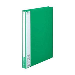 (まとめ) キングジム ユーズナブルクリアーファイル A4タテ 40ポケット 背幅24mm 緑 133USWミト 1冊 【×30セット】