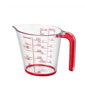(まとめ) メジャーカップ/計量カップ 【250ml】 楕円形 (丸型 ラウンド) 状 キッチン 台所 用品 【×60個セット】