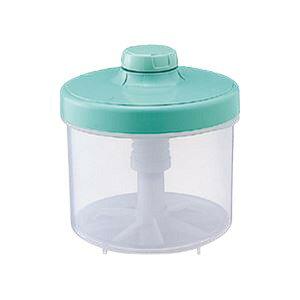 (まとめ)漬物器ハイペット3L円柱型グリーン(つけもの容器) 【×3セット】 緑