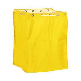 (まとめ)テラモト BMダストカー 袋E 小 黄 DS-232-310-5 1枚【×3セット】