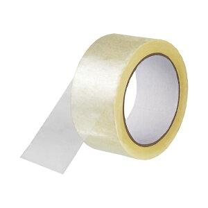(まとめ) スマートバリュー 透明梱包用テープ中・重梱包用 1巻 B690J【×50セット】