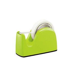 (まとめ)プラス テープカッター TC-301 ライトグリーン 5台【×2セット】 緑