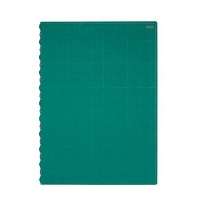 (まとめ)TANOSEE二つ折りデスク (テーブル 机) サイズカッターマット 690×990mm 1枚【×3セット】