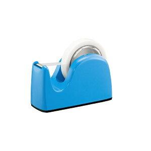 (まとめ)プラス テープカッター TC-301 ライトブルー 5台【×2セット】 青