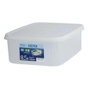 (まとめ) 保存容器/ジャンボケース 【L】 抗菌 清潔 効果 キッチン 台所 用品 『キーパー』 【×15個セット】