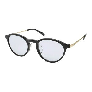 nano・universe(ナノ・ユニバース) ファッショングラス ブラック/ホワイトゴールド ブルースーパーライトスモーク NUS-113 1 白 黒 青