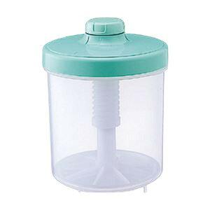 漬物器ハイペット4L円柱型グリーン(つけもの容器) 緑