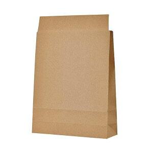 (まとめ) TANOSEE 宅配袋 小 茶封かんテープ無し 1パック(100枚) 【×5セット】
