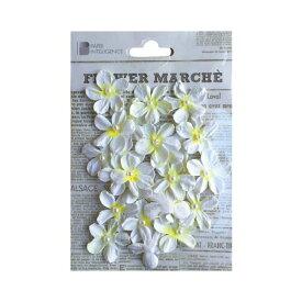 (まとめ)フラワーマルシェ パールペタル ホワイト【×30セット】 白