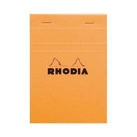 (まとめ) ロディア ブロックロディア No.13148×105mm 5mm方眼 オレンジ 80枚 cf13200 1冊 【×10セット】