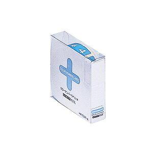 (まとめ) リヒトラブ カラーナンバーラベルMロールタイプ 「4」 HK753R-4 1箱(300片) 【×5セット】