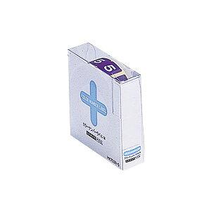 (まとめ) リヒトラブ カラーナンバーラベルMロールタイプ 「5」 HK753R-5 1箱(300片) 【×5セット】