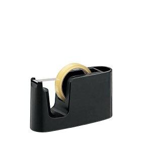 (まとめ)プラス テープカッター ブラック TC-401【×30セット】 黒