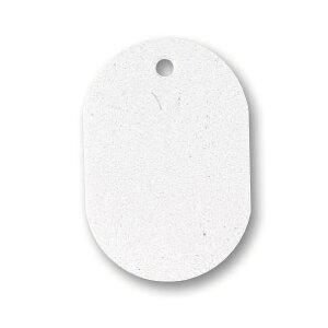 (まとめ) ソニック 番号札 小 無地 白NF-751-W 1セット(100個:10個×10パック) 【×10セット】