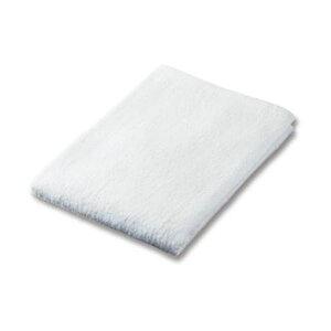(まとめ)業務用スレンカラーバスタオル ホワイト 1枚【×20セット】 白