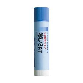(まとめ) トンボ鉛筆 スティックのりつめ替え消えいろピット 本体 約20g PT-NCR 1本 【×30セット】