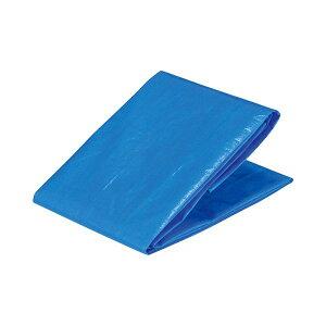 (まとめ)アイネット ブルーシート #3000 3.5×3.5m ML0217 1枚 【×5セット】 青