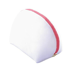 (まとめ) ブラジャー用洗濯ネット/洗濯用品 【ブラネットシェル型】 ホワイト ドラム式・縦型全自動・二層式可 【×80個セット】 白