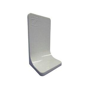 (まとめ)プロセブン プロセブン L型ストッパーホワイト PSL-N3404W 1パック(4個)【×3セット】 白