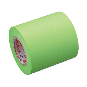 (まとめ) ヤマト メモック ロールテープ 蛍光紙詰替用 50mm幅 ライム RK-50H-LI 1巻 【×50セット】
