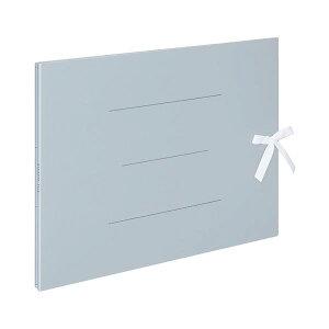 コクヨ ガバットファイル(紙製)A3ヨコ(ひも付き) 1000枚収容 背幅13~113mm 青 フ-H948B 1セット(10冊)