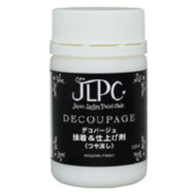 (まとめ)JLPC パソコン デコパージュ接着&仕上げ剤100ml【×5セット】