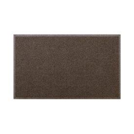 クリーンテックス・ジャパン 玄関マット ウォーターホースT W146×D88 ブラウン 1枚 【業務用】 茶