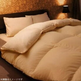 日本製 ポーランド産ホワイトダックダウン90% ロイヤルゴールドラベル 羽毛掛布団 掛け布団 (寝具幅サイズ ダブル)(カラー プレミアムブラウン) ホワイト 白 ブラウン 茶