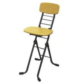 ルネセイコウ リリィチェアM(折りたたみ椅子) ナチュラル/ブラック 日本製 完成品 CSM-320T    【abt-1062242】【APIs】