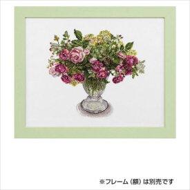 刺繍キット Fujico Collection 秋バラのアレンジメント 680  【abt-1493854】【APIs】