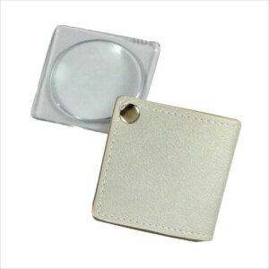 MIZAR(ミザールテック) 3.0倍 折りたたみ 携帯用ポケットルーペ RK-30PWH ホワイト  【abt-1172897】【APIs】