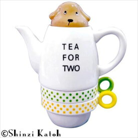Shinzi Katoh Tea For Two ティーフォーツー Miniature dachshund(ミニチュアダックスフンド) SKTFT-04  【abt-1113963】【APIs】