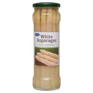Norlake(ノルレェイク) ホワイトアスパラガス 瓶詰 330g×12個  【abt-1602221】【APIs】
