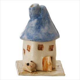 煙突家の香炉(青) K4359  【abt-1415727】【APIs】