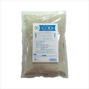 桜井食品 有機ライ麦粉 500g×24個  【abt-1420227】【APIs】 (軽税)