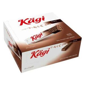 Kagi(カーギ) チョコウエハース ダークバー 25g×24本  【abt-1427429】【APIs】 (軽税)