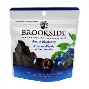 ブルックサイド ダークチョコレート アサイー&ブルーベリー 70g×40袋  【abt-1395489】【APIs】 (軽税)