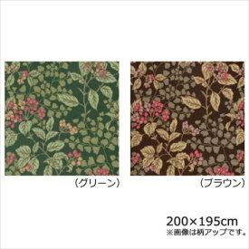 川島織物セルコン ジューンベリー マルチカバー 200×195cm HV1019S  【abt-1270616】【APIs】