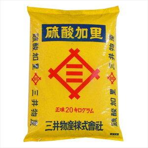 あかぎ園芸 硫酸加里 20kg 1袋  【abt-1523779】【APIs】