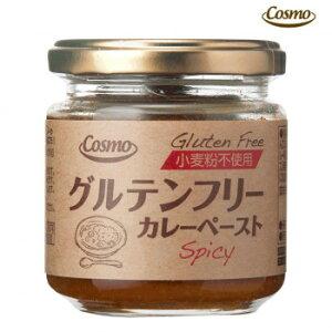 コスモ食品 グルテンフリー カレーペーストスパイシー 180g 12個×2ケース  【abt-1645267】【APIs】 (軽税)