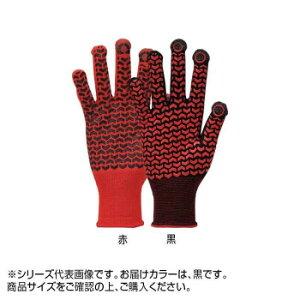 勝星 スマートフォン・タッチパネル対応手袋 クイックタッチキャッチライナー Q-039 L 黒 10双  【abt-1597822】【APIs】