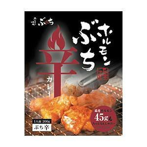 焼肉ぶち監修 ホルモンぶち辛カレー 10食セット  【abt-1439234】【APIs】 (軽税)