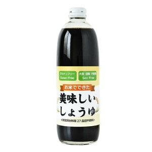 もぐもぐ工房 お米でできた美味しいしょうゆ 500ml×2本 450042  【abt-1523039】【APIs】 (軽税)