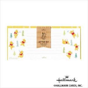 Hallmark ホールマーク ディズニー 便箋封筒セット ふわふわプー 6セット 748463  【abt-1535364】【APIs】