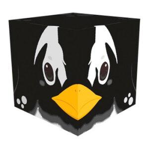 Cube Box 小(ソーダキャンディ5個入) ペンギン 10個セット CB515  【abt-1563462】【APIs】 (軽税)